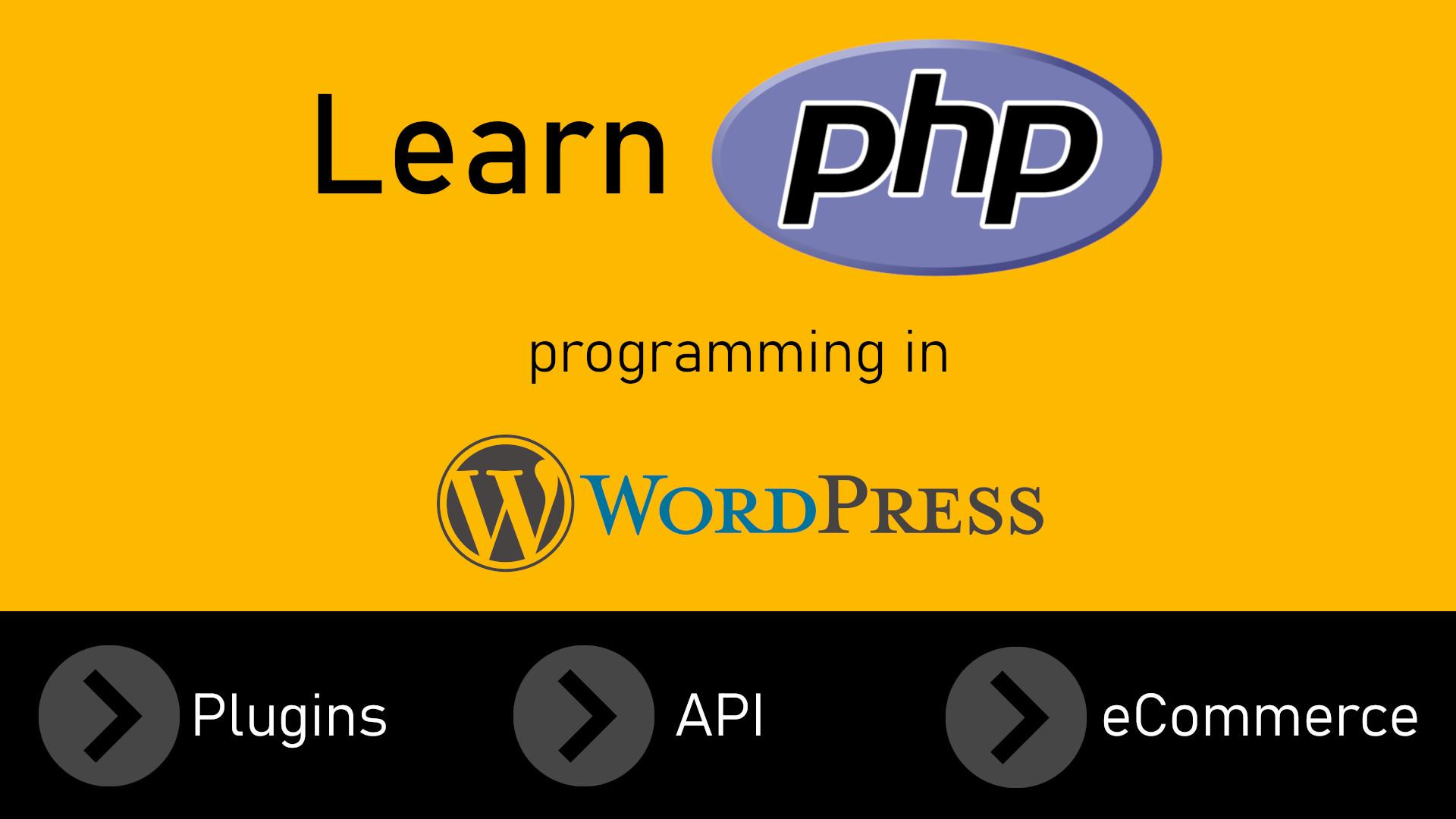 Learn PHP programming in Wordpress